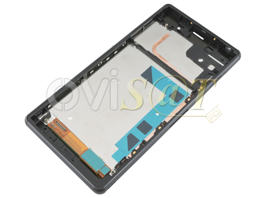 Pantalla Completa en color negro con marco Sony Xperia Z3, D6603 ...
