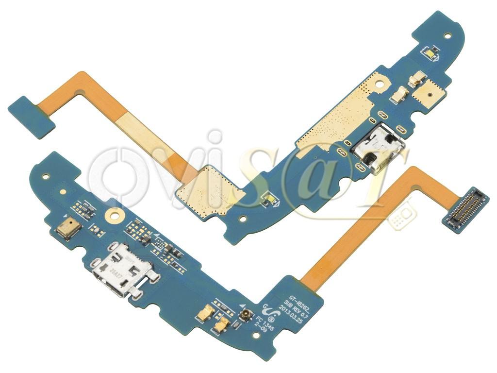 Circuito Flexible Ps4 : Circuito flex con micrófono y conector de carga