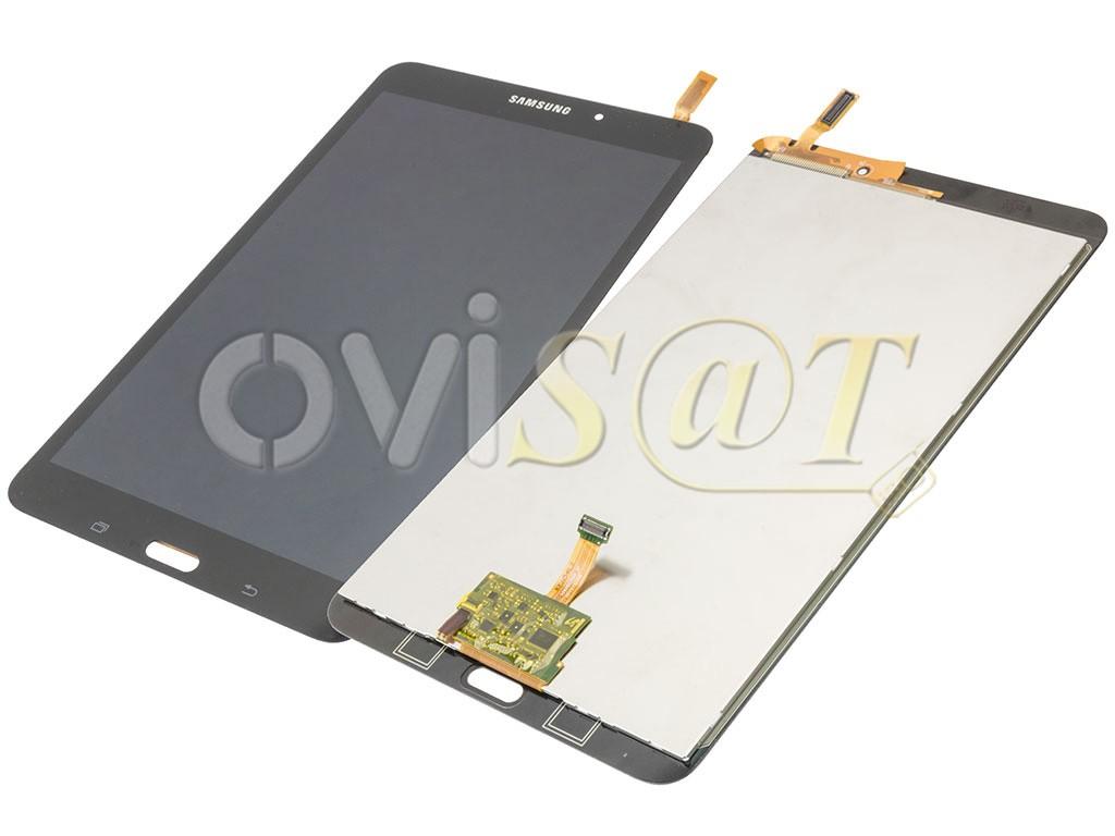Pantalla completa con marco negra, para Samsung Galaxy Tab 4 8.0 ...