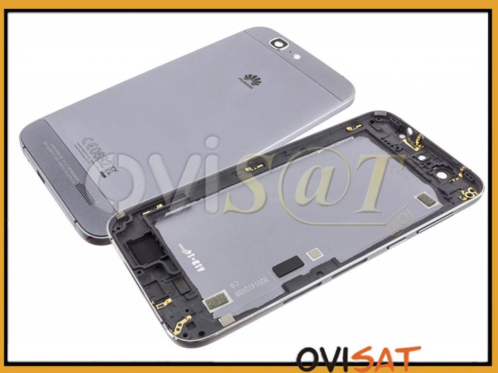 1e43d777a29 Carcasa trasera negra para Huawei Ascend G7.