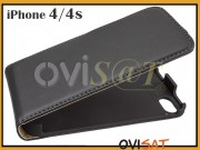 funda-vertical-de-piel-negra-para-iphone-4-4s