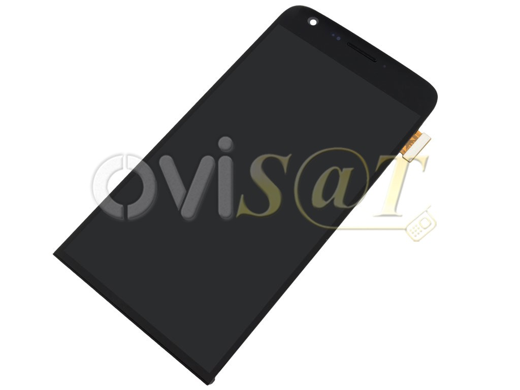 Pantalla completa (display, LCD + digitalizador, táctil) negra con ...