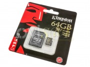 memoria-micro-sd-64gb-kingston-sdxc10-64gb-class-10