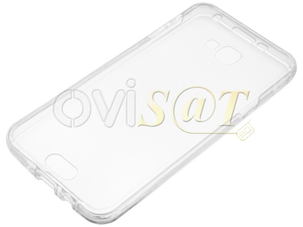 87195a00413 Funda 360 transparente de TPU para Samsung Galaxy J5 Prime, G570