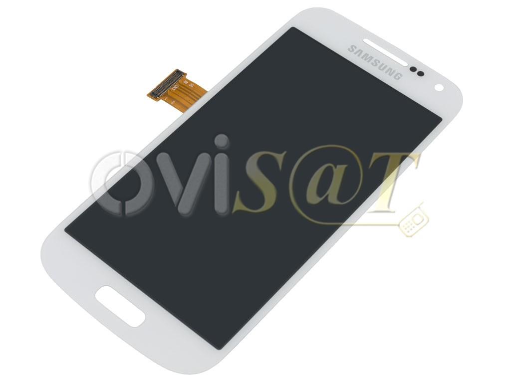 4614ac87ad8 Pantalla completa blanca para Samsung Galaxy S4 Mini, I9190, I9195